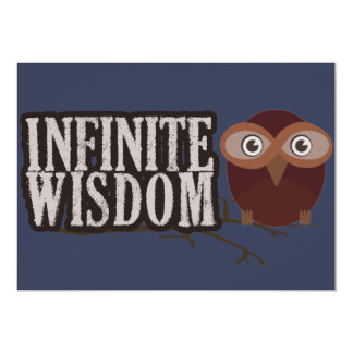 Infinite Wisdom Card