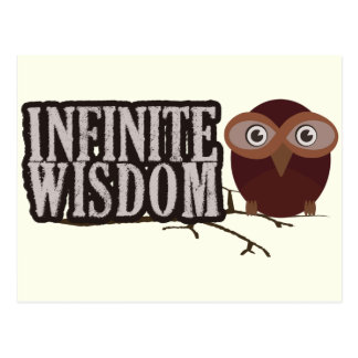 Infinite Wisdom Postcard