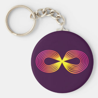 Infinitely indications sign eternity key chains