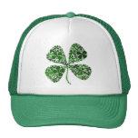 Infinitely Lucky 4-leaf Clover Hat