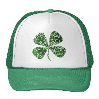 Infinitely Lucky 4-leaf Clover Trucker Hat