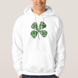 Infinitely Lucky 4-leaf Clover Hoodie