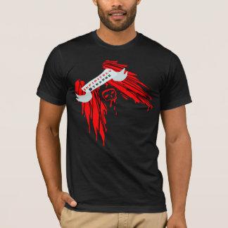 Infinitely Strange: Red Wings and Skull T-Shirt
