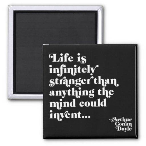Infinitely Stranger 2 Inch Square Magnet
