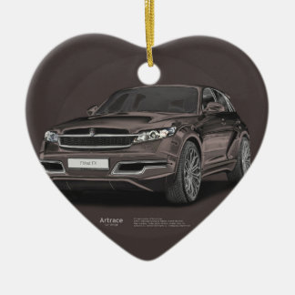 Infiniti FX 45 Artrace body-kit Ceramic Ornament