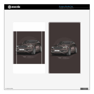Infiniti FX 45 Artrace body-kit Decal For Kindle Fire