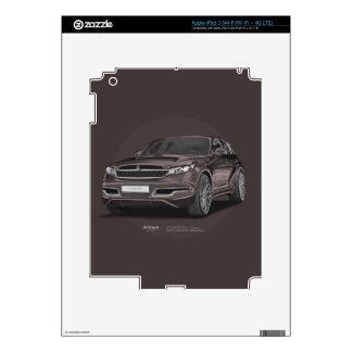 Infiniti FX 45 Artrace body-kit iPad 3 Skins