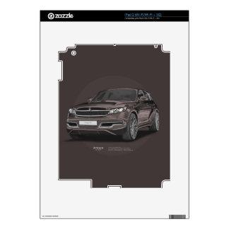 Infiniti FX 45 Artrace body-kit Skins For iPad 2