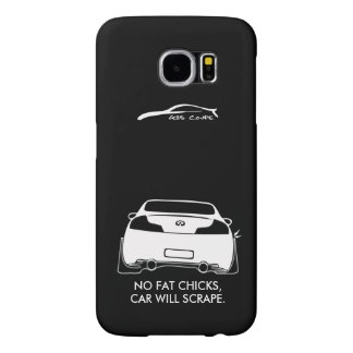 Infiniti G35 Coupe - No fat chicks Samsung Galaxy S6 Cases
