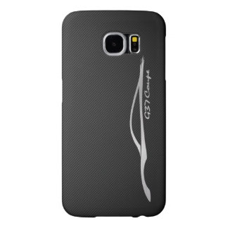 Infiniti G37 Coupe - Silver silhouette JDM Samsung Galaxy S6 Case