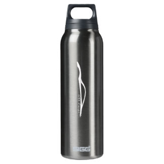 Infiniti G37 Coupe White Brushstroke 16 Oz Insulated SIGG Thermos Water Bottle