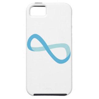 Infinito azul claro iPhone 5 funda