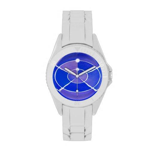 Infinito azul relojes de mano