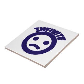 Infinito = ( azulejo cuadrado pequeño