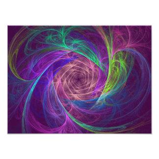 Infinito colorido fotografía