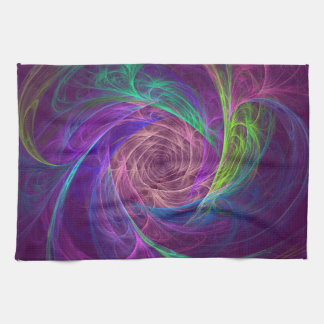 Infinito colorido toalla de cocina