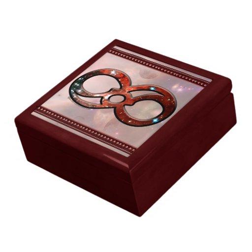 Infinito cósmico cajas de joyas