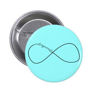 Infinito de Colorguard Pin