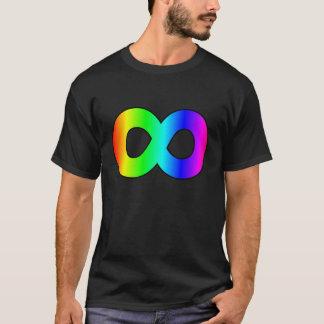 infinito del arco iris del autismo playera