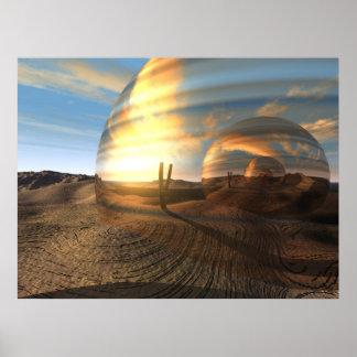 Infinito del desierto póster