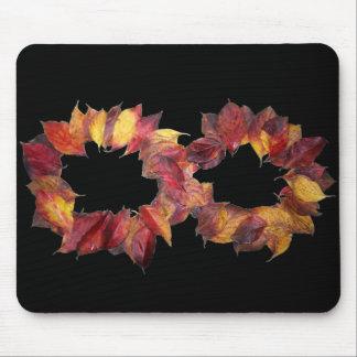 Infinito del otoño mouse pads