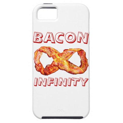 Infinito del tocino iPhone 5 fundas