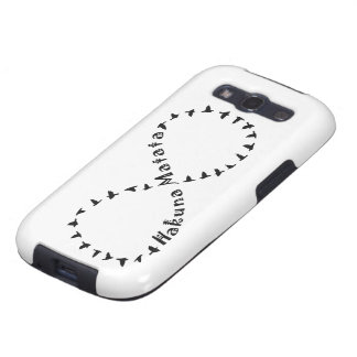 Infinito Hakuna Matata Galaxy S3 Protector