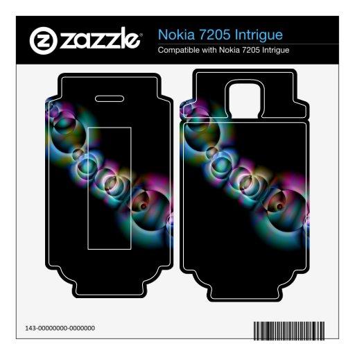 Infinito Nokia 7205 Intrigue Calcomanía