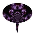 Infinito púrpura figuras para tartas