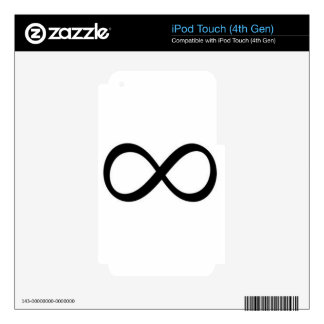 infinito calcomanía para iPod touch 4G