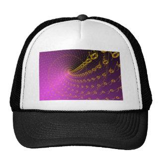 Infinito violeta gorras
