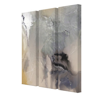 Infinity Abstract painting 3 Panels Canvas Print