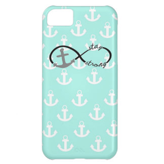 Infinity Anchor Stay Strong Collage iPhone 5C Covers