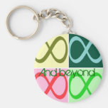 Infinity and Beyond Key Chain
