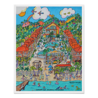 INFINITY BAY RESORT POSTER