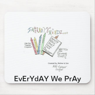Infinity Bible Story Coloring Book Mousepads