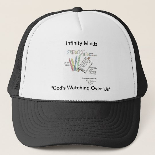 Infinity Bible Story Coloring Book Trucker Hat