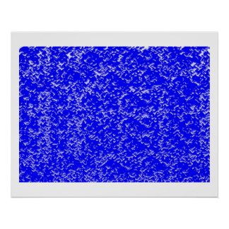 INFINITY Blue Chinese Oriental Decorative Pallet Print