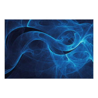 Infinity Blue Poster