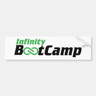 Infinity Bootcamp Bumper Sticker