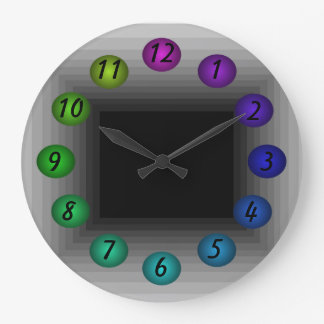 Infinity Box 3D Illusion Sci Fi Futuristic Clocks