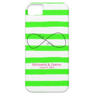 Infinity Bride & Groom Wedding Customizable iPhone SE/5/5s Case