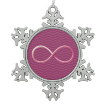 Infinity Christmas Ornament