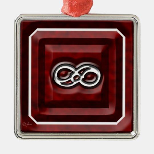 Infinity Classic Metal Ornament