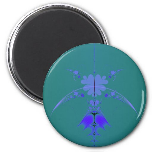 Infinity Clover 2 Inch Round Magnet