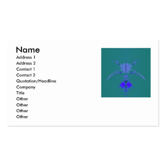 Infinity Clover Double-Sided Standard Business Cards (Pack Of 100)