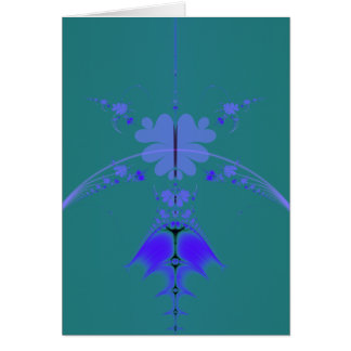 Infinity Clover Greeting Card