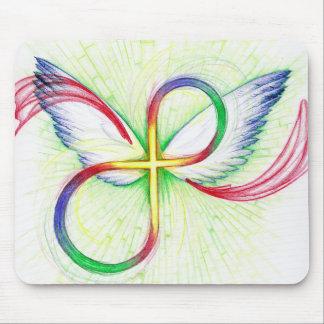 Infinity Cross Mouse Pad