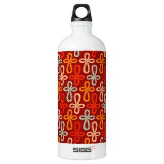 Infinity Cross Pattern Water Bottle