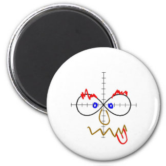 infinity doodle 2 inch round magnet
